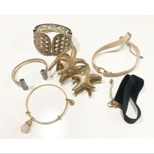 Jewelry Bundle - Bracelets & Chokers